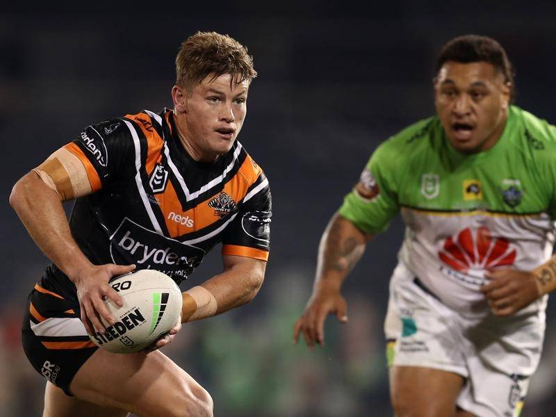 Harry Grant has been a hit with the West Tigers since being loaned out by the Melbourne Storm.