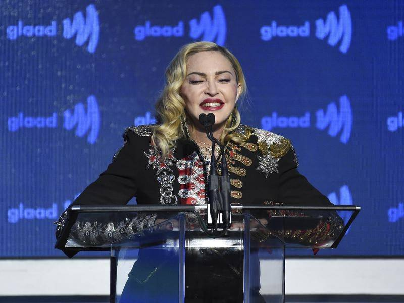 Madonna says she will