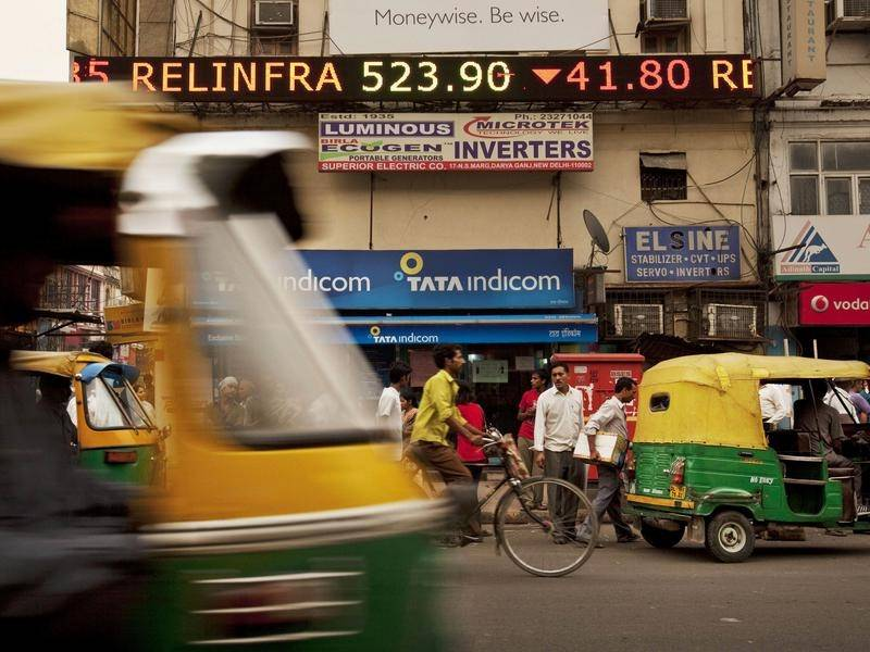 Economic data indicates India is in a recession for the first time in the country's history.
