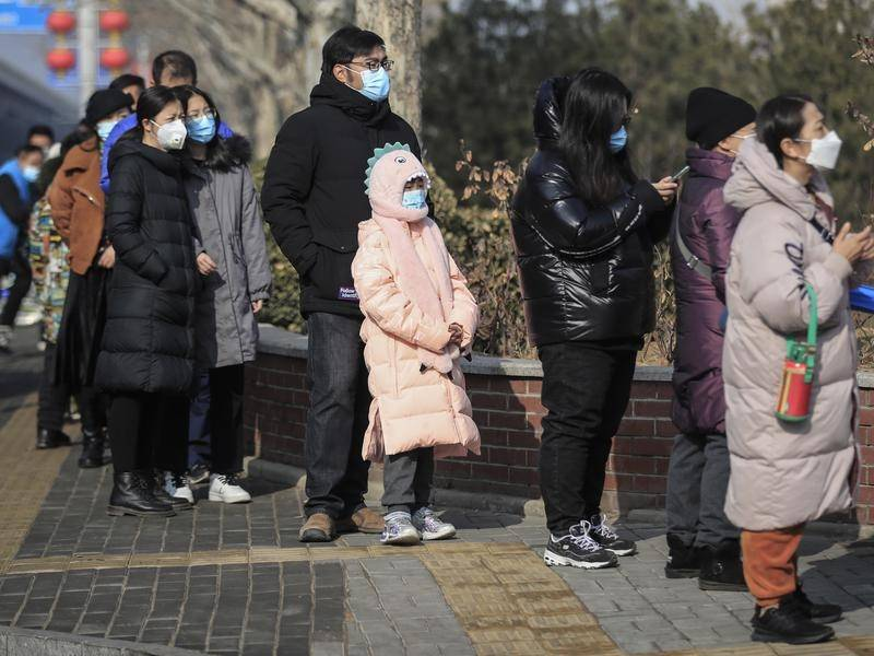 China requires people travelling for Lunar New Year to have a negative nucleic acid test.