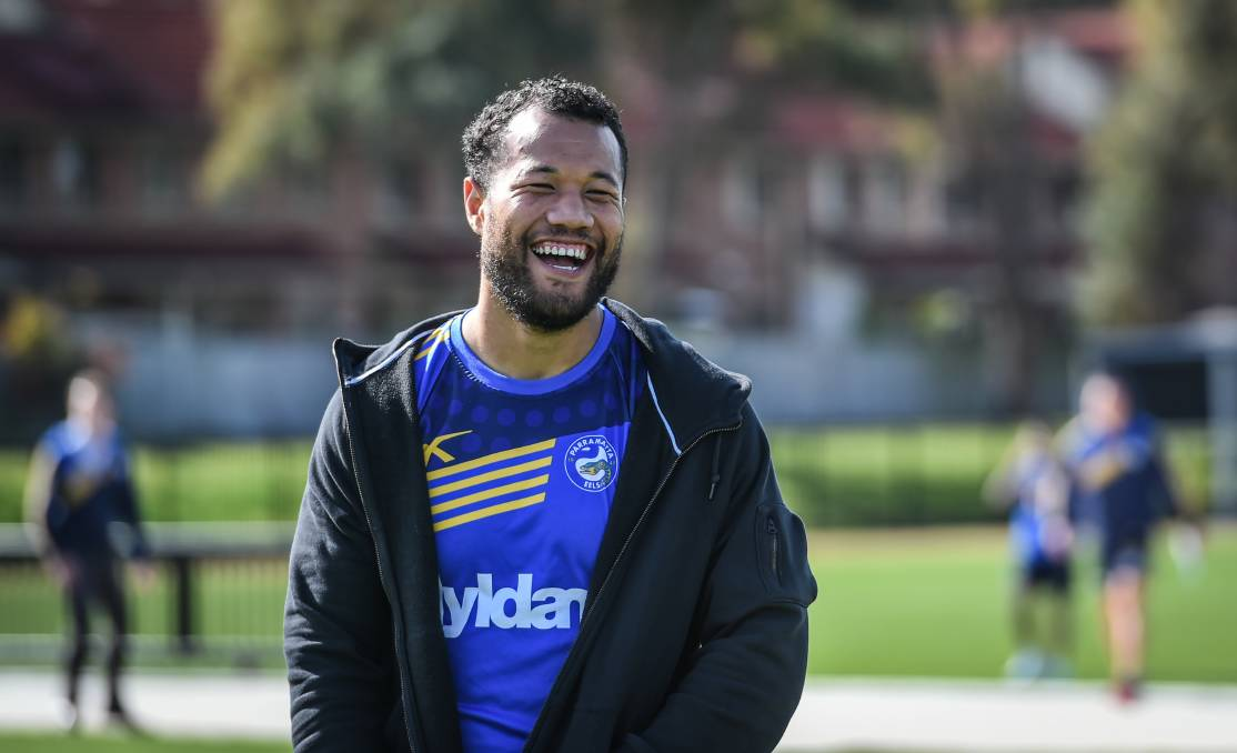 New role: Joseph Paulo will step into the halves to fill the void left by Chris Sandow and Corey Norman. Picture: Brendan Esposito