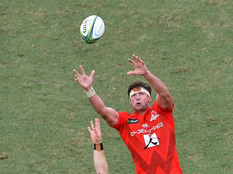 Lock Michael Stolberg has made an unexpected Super Rugby switch from the Sunwolves to Rebels.