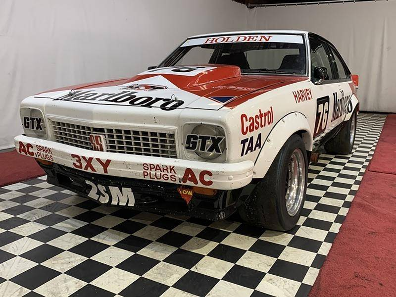 Race car driver John Harvey's iconic Holden LX Torana could fetch more than $1 million at auction.