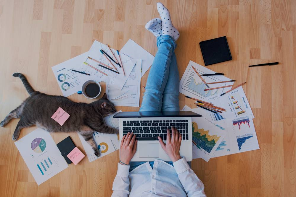 HOME WORK: Researchers believe that flexible and remote work is here to stay: Photo: SHUTTERSTOCK
